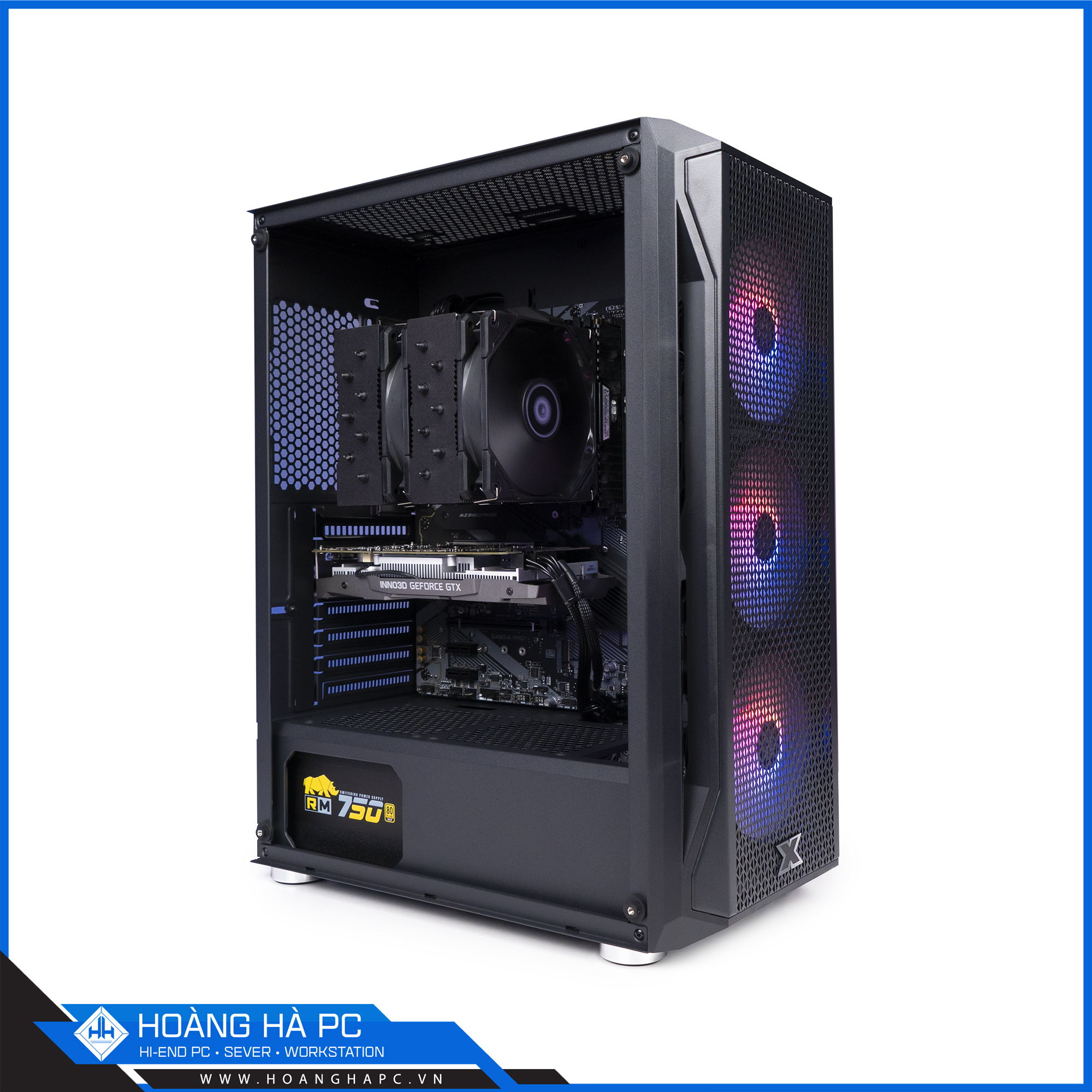 HH WORKSTATION CORE i9 10900K | 16GB | RADEON RX 550 4GB