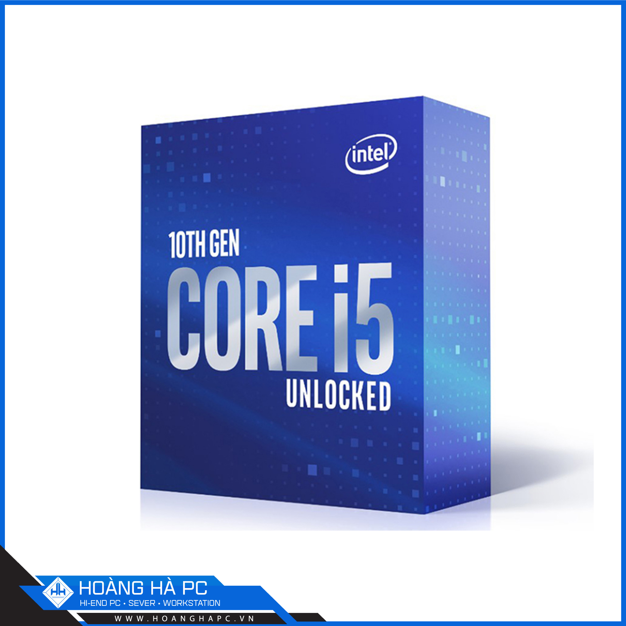 CPU Intel Core i5-10600K (4.10GHz Turbo Up To 4.80GHz, 6 Nhân 12 Luồng,12MB Cache, Comet Lake-S)
