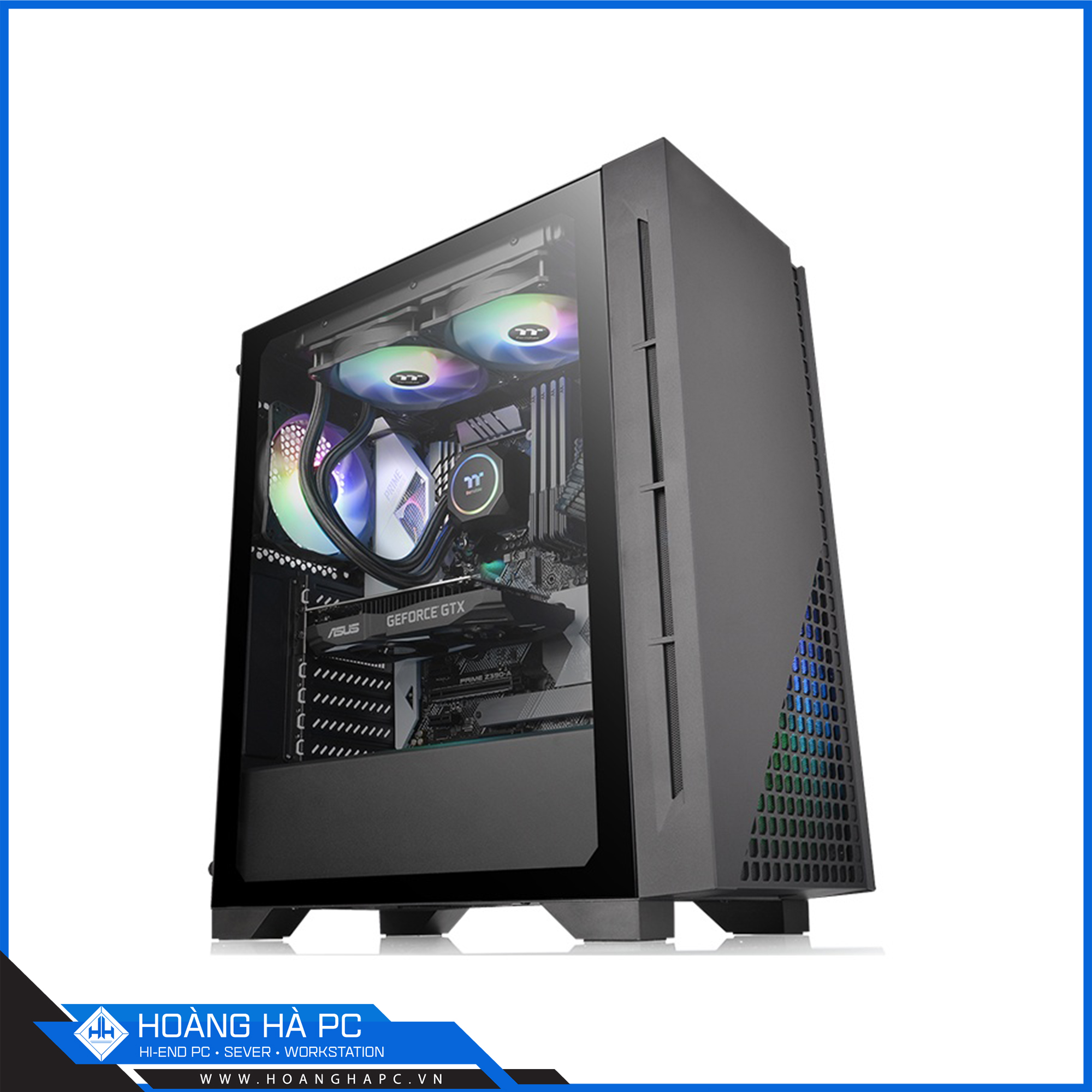 THERMALTAKE H330 Tempered Glass Mid-Tower Chassis