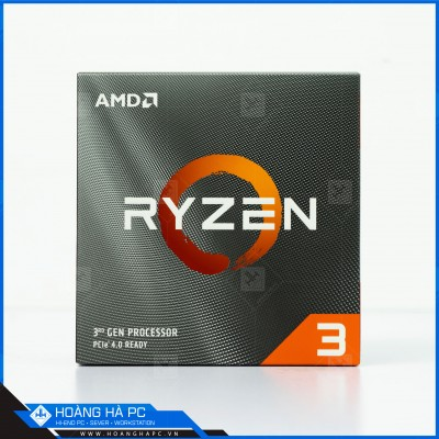 CPU AMD Ryzen 3 3300X (3.8GHz Turbo Up To 4.30GHz, 4 Nhân 8 Luồng, 18M Cache, AM4)