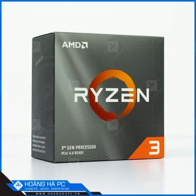CPU AMD RYZEN 3 3100 (3.60GHz Turbo Up To 3.90GHz, 4 Nhân 8 Luồng, 16M Cache, AM4)
