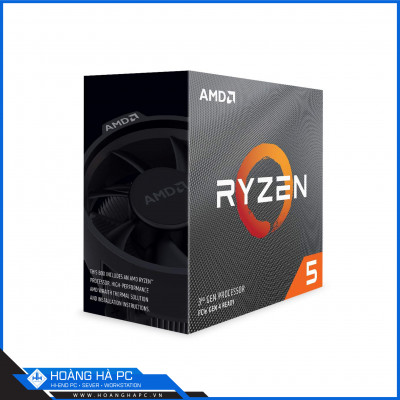 CPU AMD Ryzen 5 3500X (3.6GHz Turbo Up To 4.1GHz, 6 Nhân 6 Luồng, 32MB Cache, AM4)