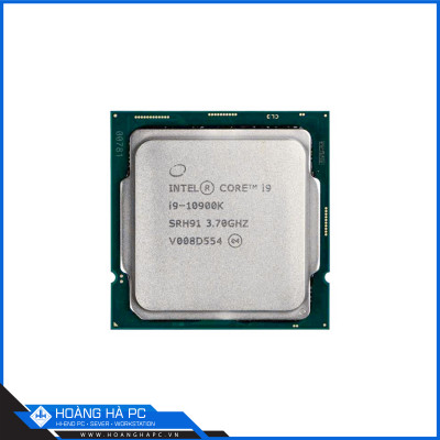 CPU Intel Core i9-10900K TRAY (3.70GHz Turbo Up To 5.30GHz, 10 Nhân 20 Luồng, 20M Cache, Comet Lake-S)