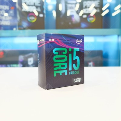 CPU Intel Core i5-9600K (3.7GHz Turbo Up To 4.6GHz, 6 nhân 6 luồng, 9MB Cache, Coffee Lake)