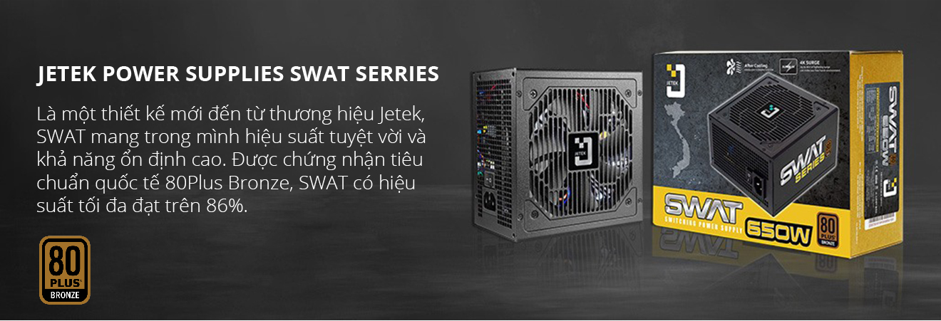 Jetek Power Supplies Swat Serries
