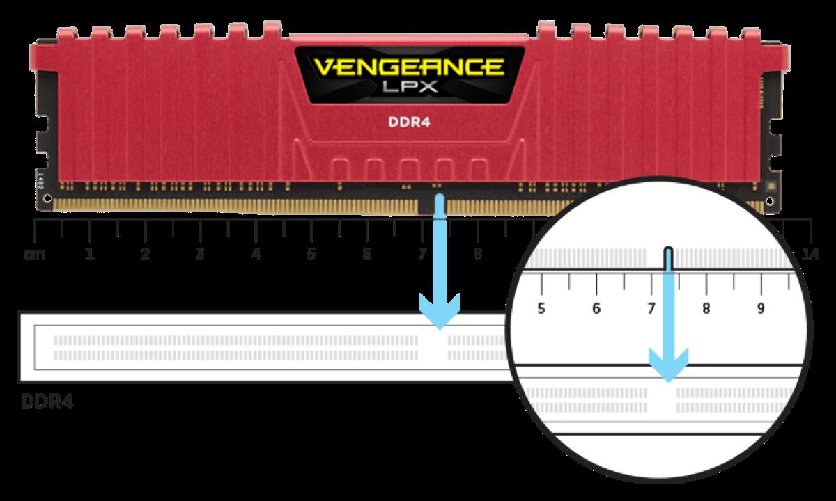 RAM Corsair Vengeance LPX 8GB