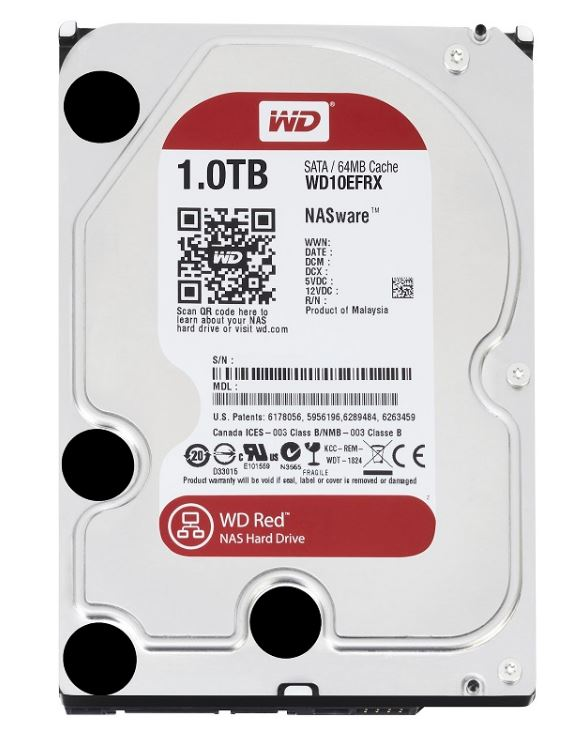 HDD Western Digital Red 1TB