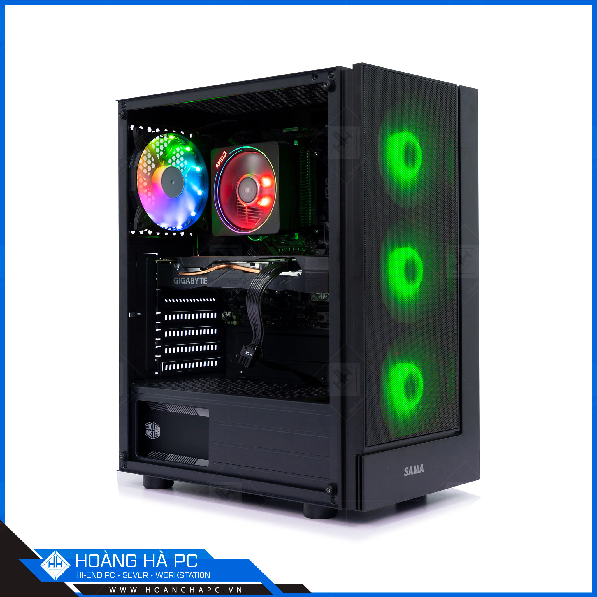 Case SAMA 3301 ( 3 FAN RGB )
