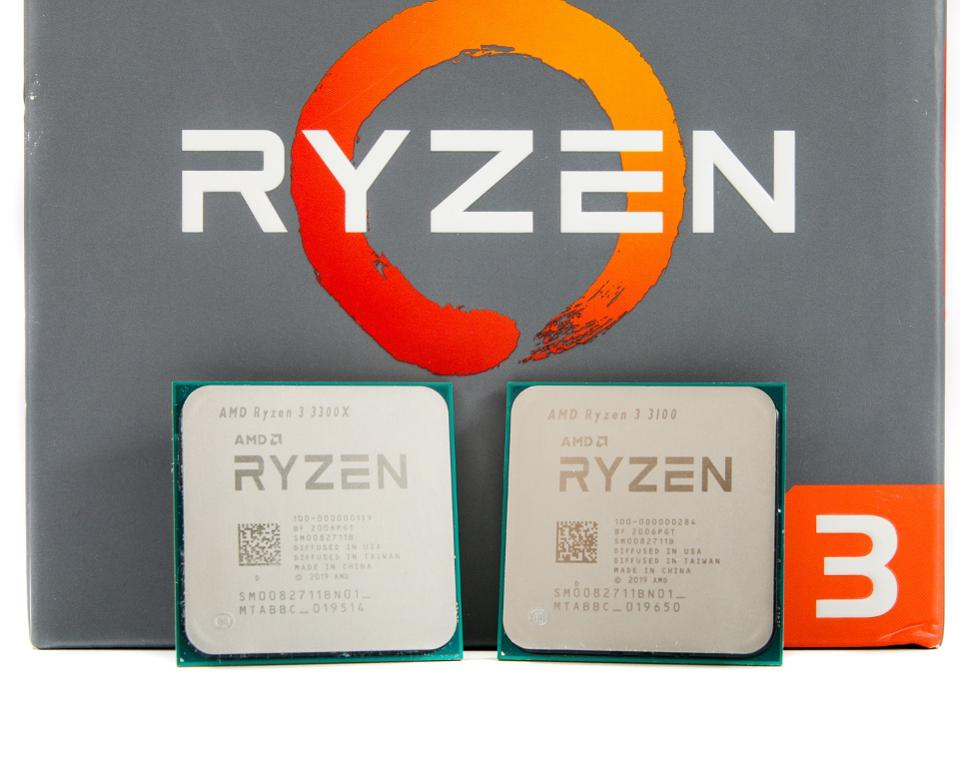 CPU AMD RYZEN 3 3100