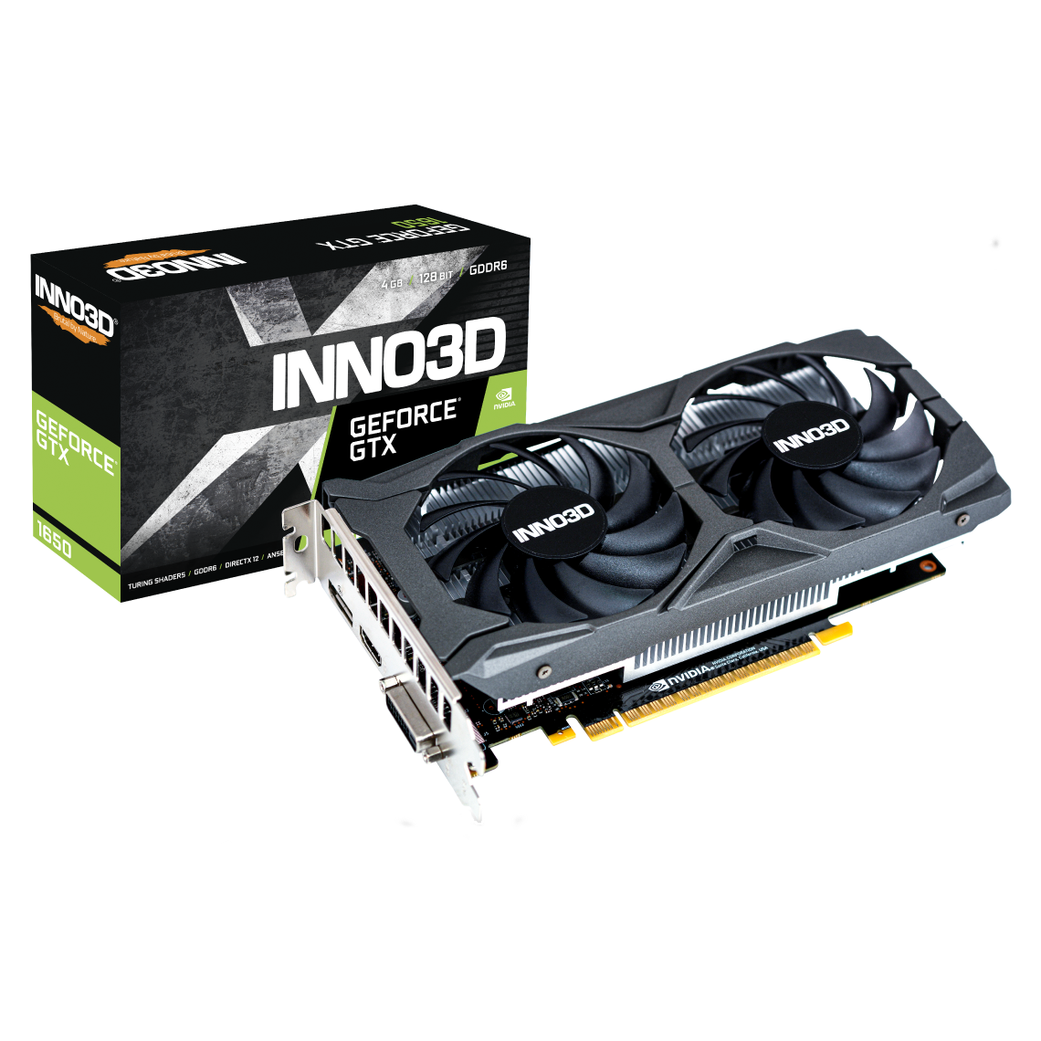 INNO3D GEFORCE GTX 1650 TWIN X2 OC V2
