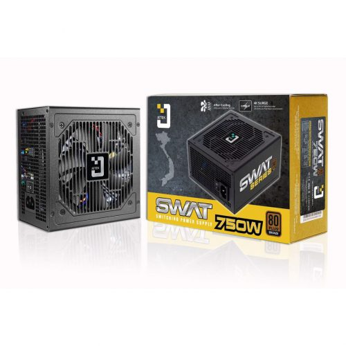 Jetek Swat 750W | 80Plus Bronze Active PFC full range 100-240v