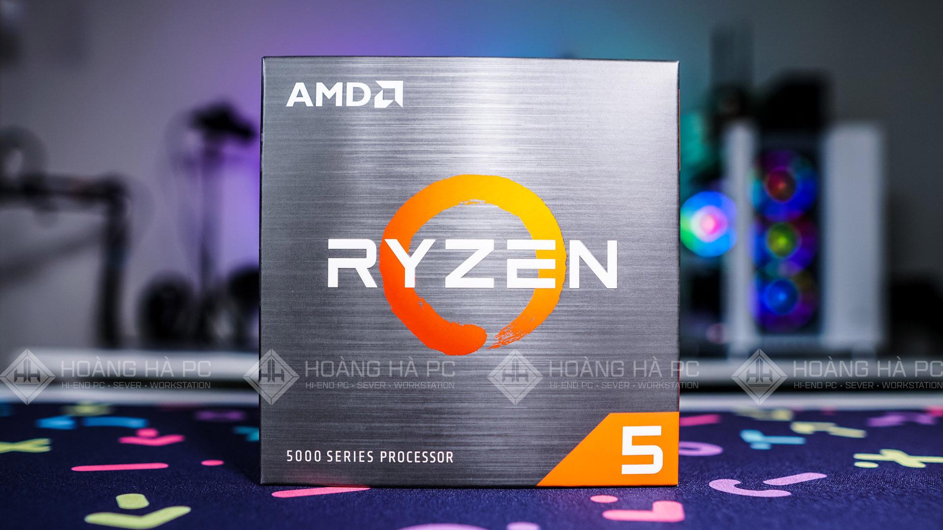 CPU AMD Ryzen 5 5600X  Kiến trúc mới, sức mạnh mới