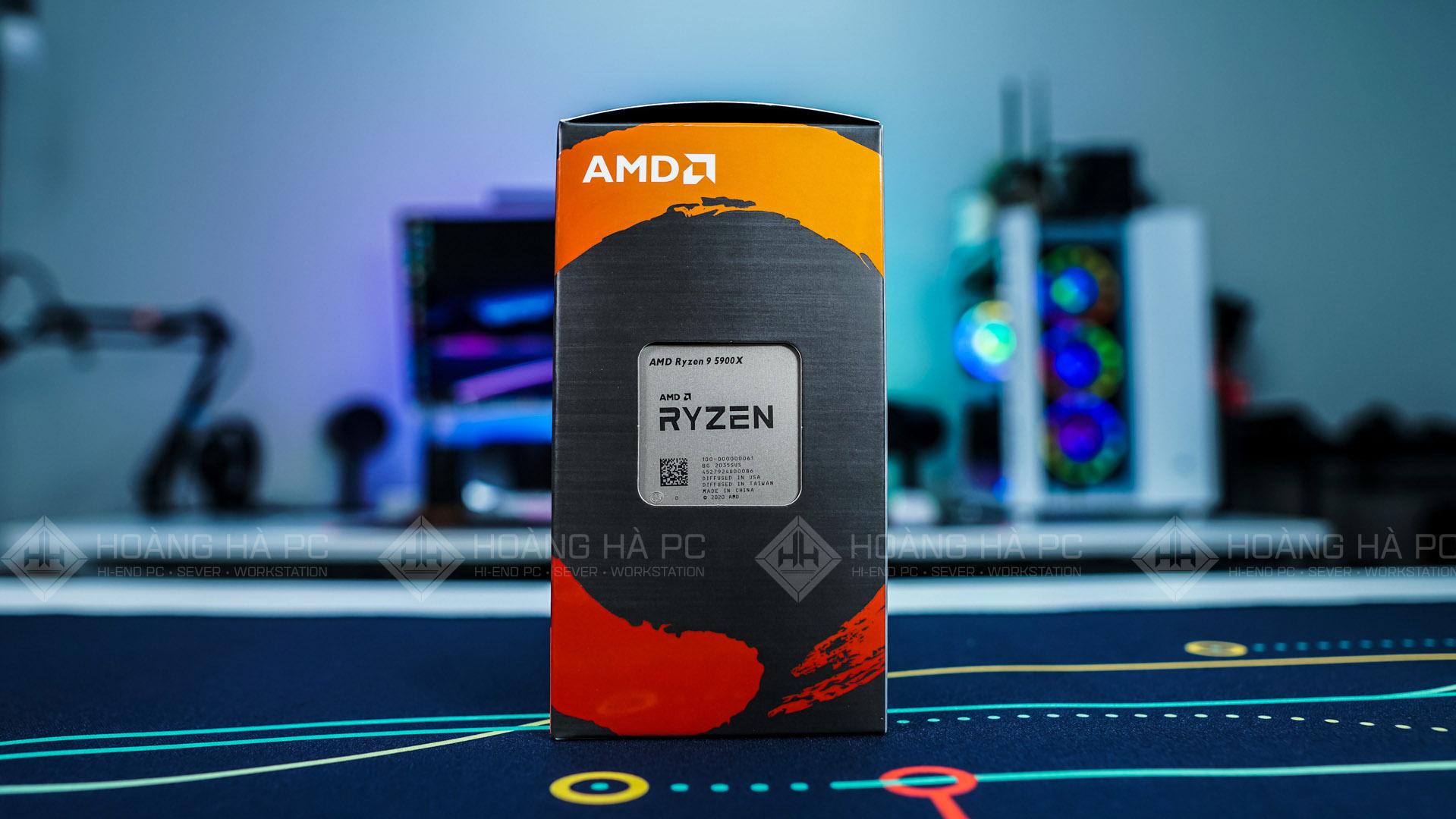 Mở hộp Ryzen 9 5900X