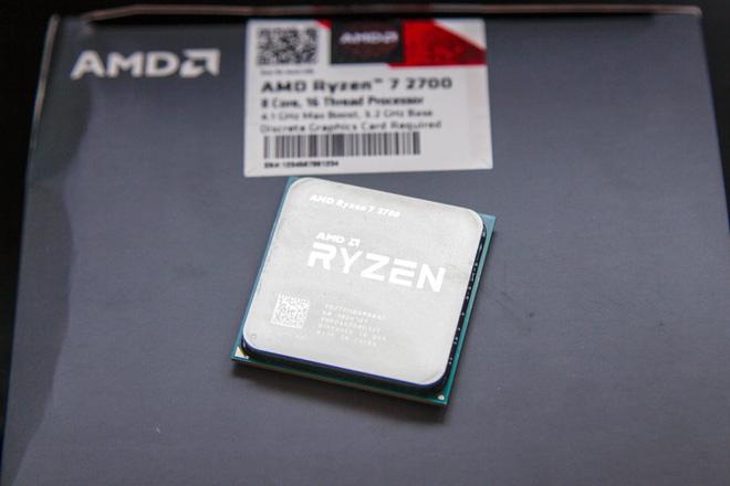 CPU AMD Ryzen 7 2700 3.2 GHz (4.1 GHz Turbo) / 20MB / 8 cores 16 threads / socket AM4