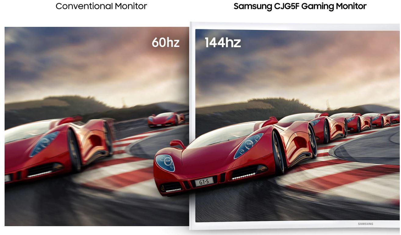 Màn hình Cong Samsung LC32JG51FDEXXV 32inch FHD 144Hz