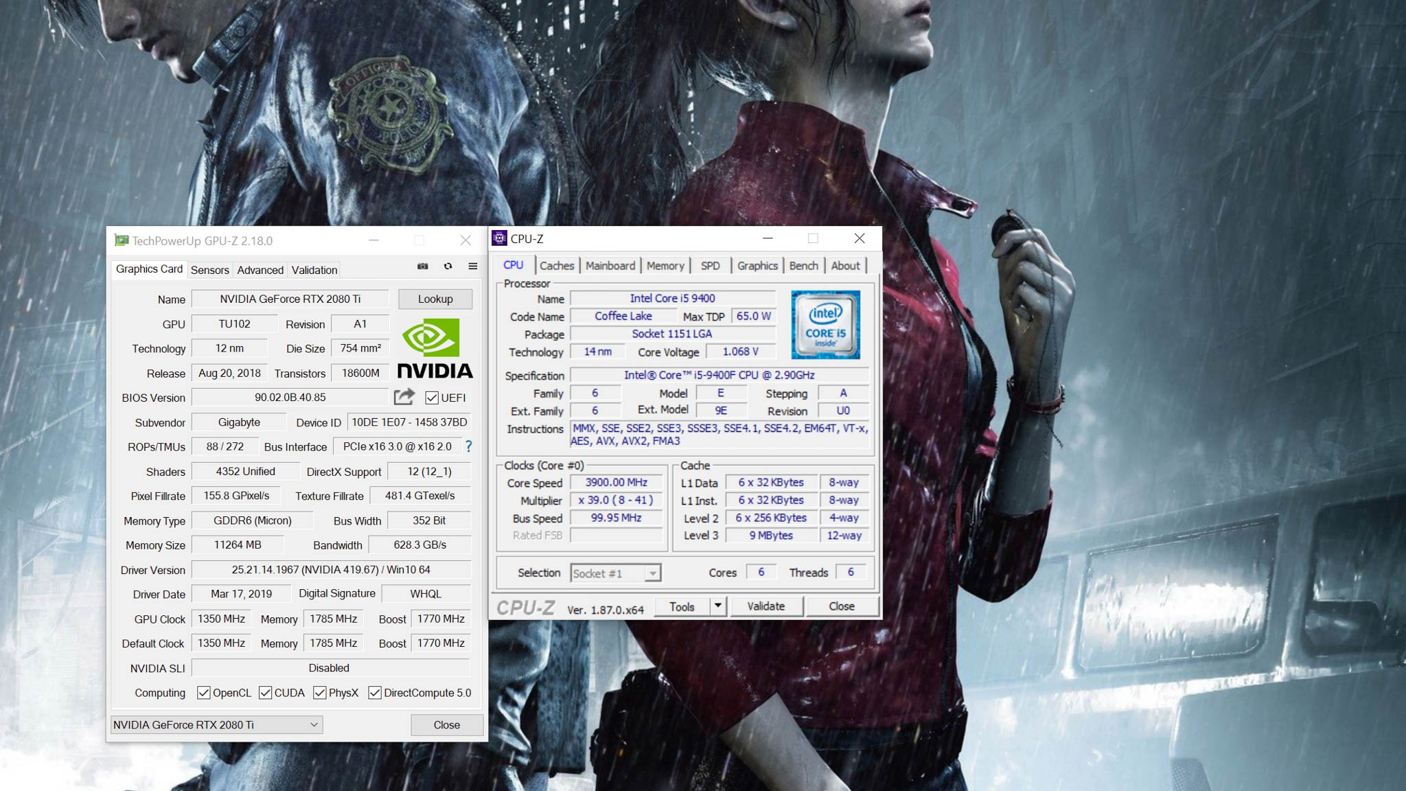 CPU Intel Core i5 9400F (Up to 4 1Ghz/ 9Mb cache/ Coffee Lake)