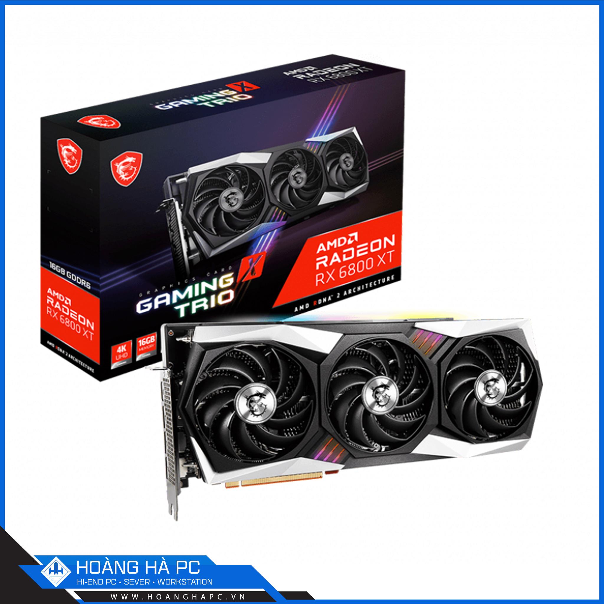 Một sản phẩm dòng Radeon của AMD