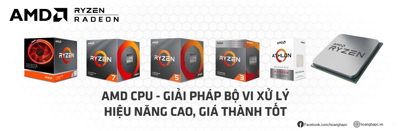 CPU - Bộ Vi Xử Lý AMD: Bảng Giá, Thông Số, Hiệu Năng