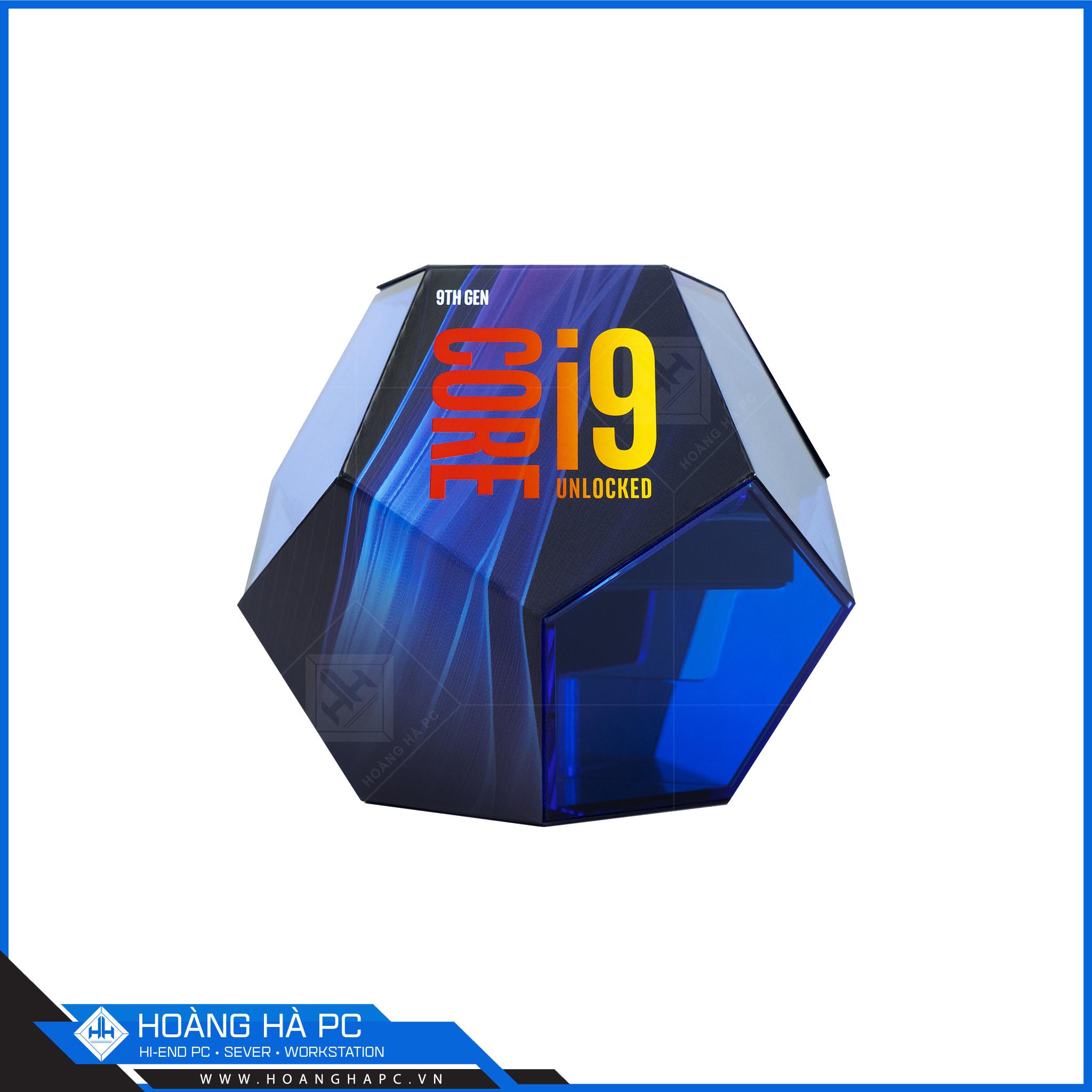 CPU Intel core i9 9900k thuộc thế hệ Coffee Lake-R dựng và edit video rất tốt