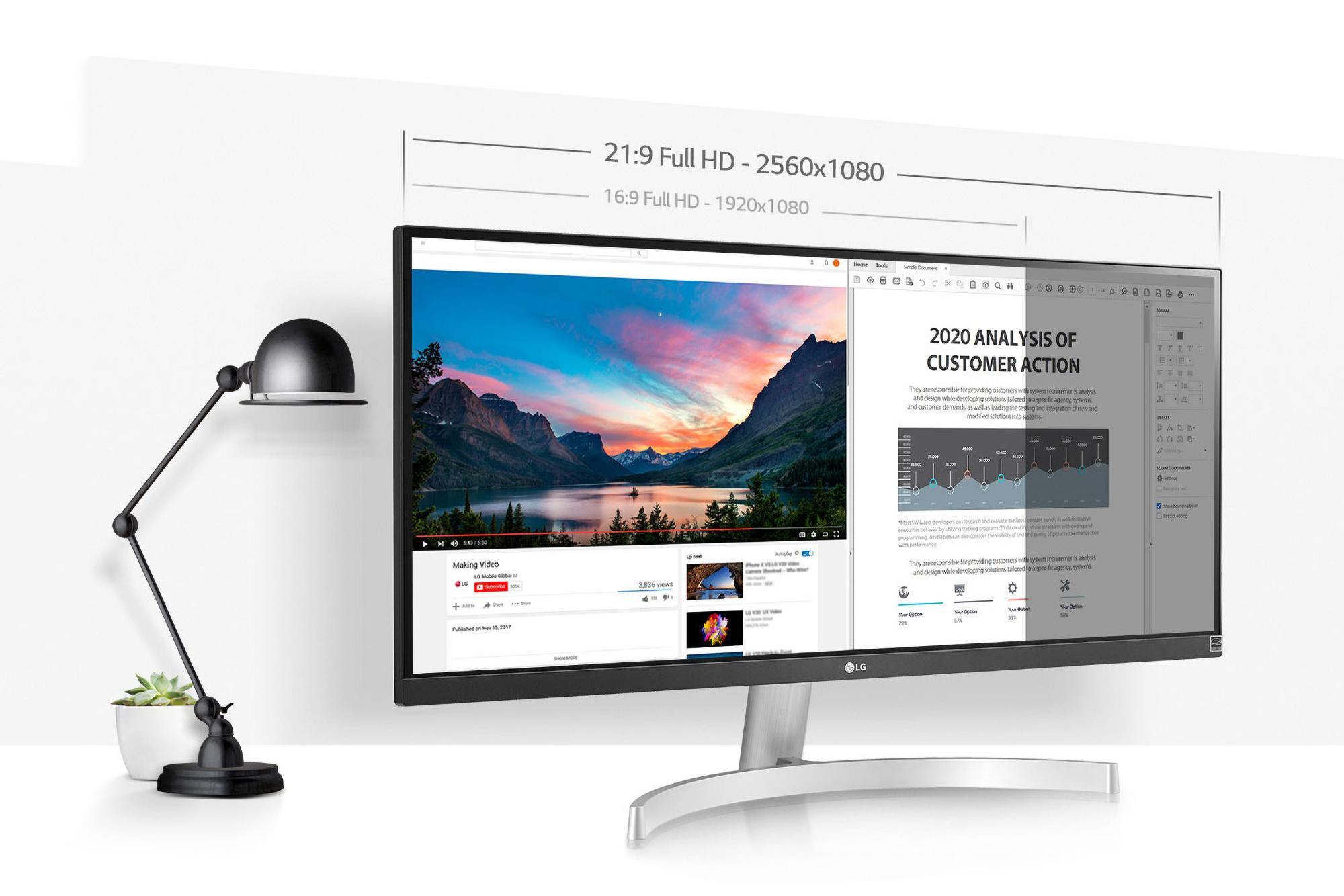 Đánh giá LG 29WN600-W  – Cải tiến hơn nữa để trải nghiệm đỉnh cao hơn.