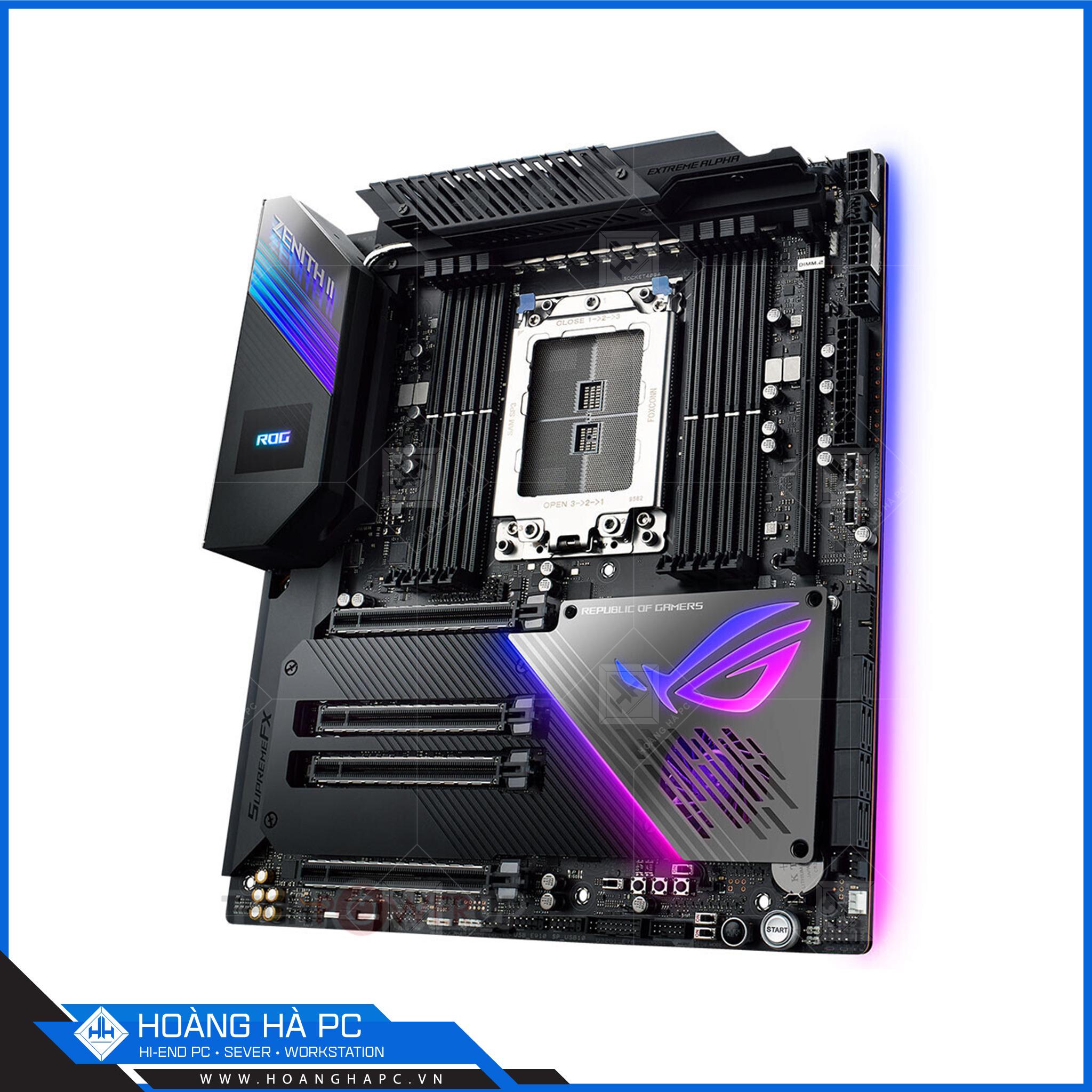 Mainboard, bo mạch chủ có Socket sTRX4 cao cấp dành cho CPU AMD
