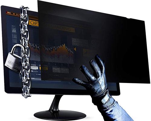 Cách chống nhìn trộm màn hình máy tính