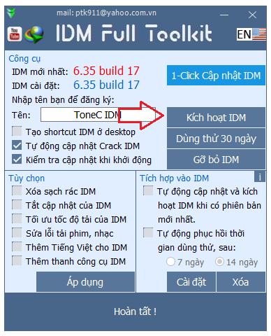 Download IDM 6.35 Build 17 Full Crack Mới Nhất - Hướng Dẫn Cài Đặt Chi Tiết