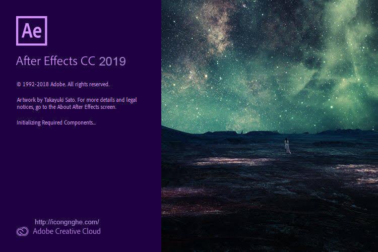 Download Adobe After Effects Cc 2019 Hướng Dẫn Cài đặt