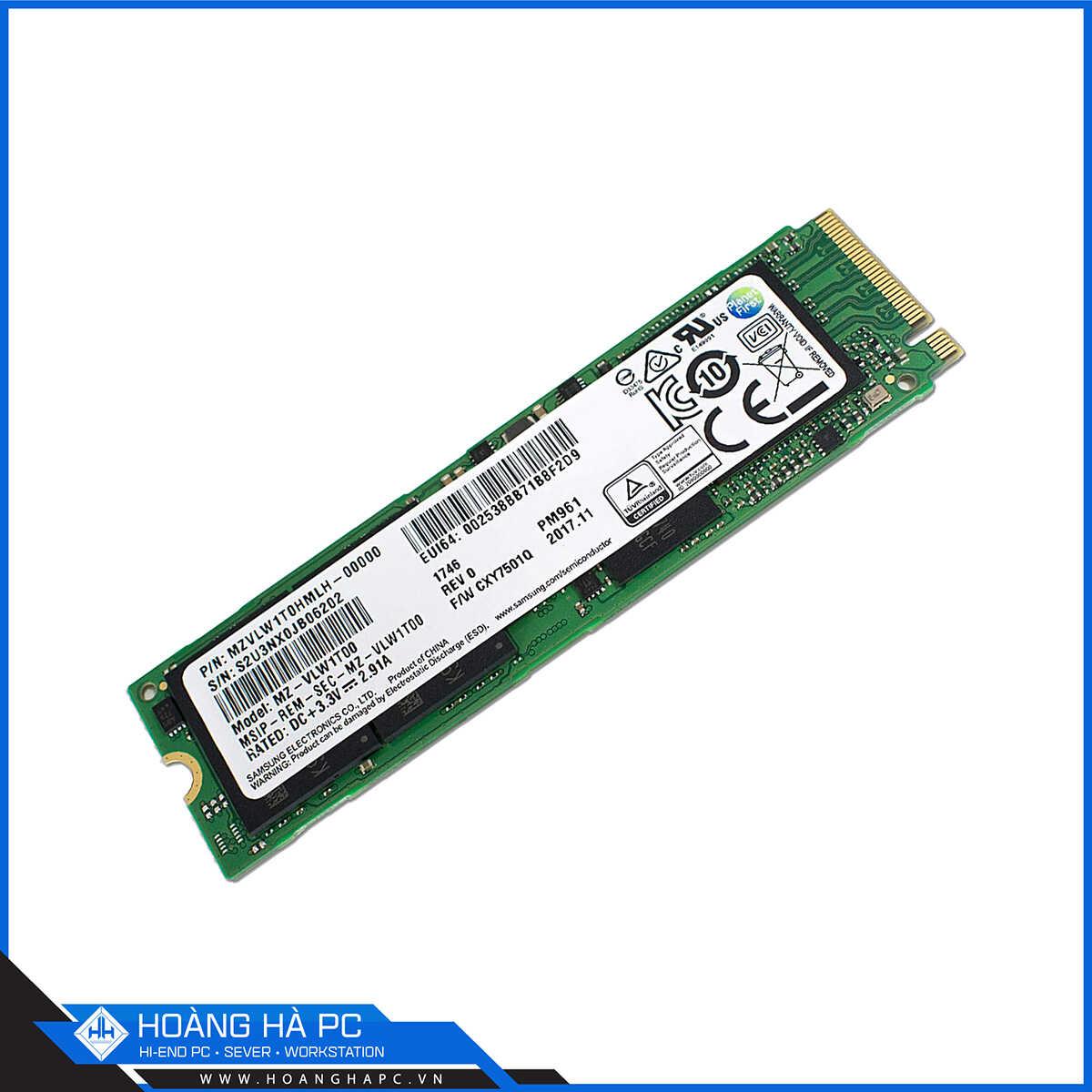 Samsung PM961 256GB M.2 2280