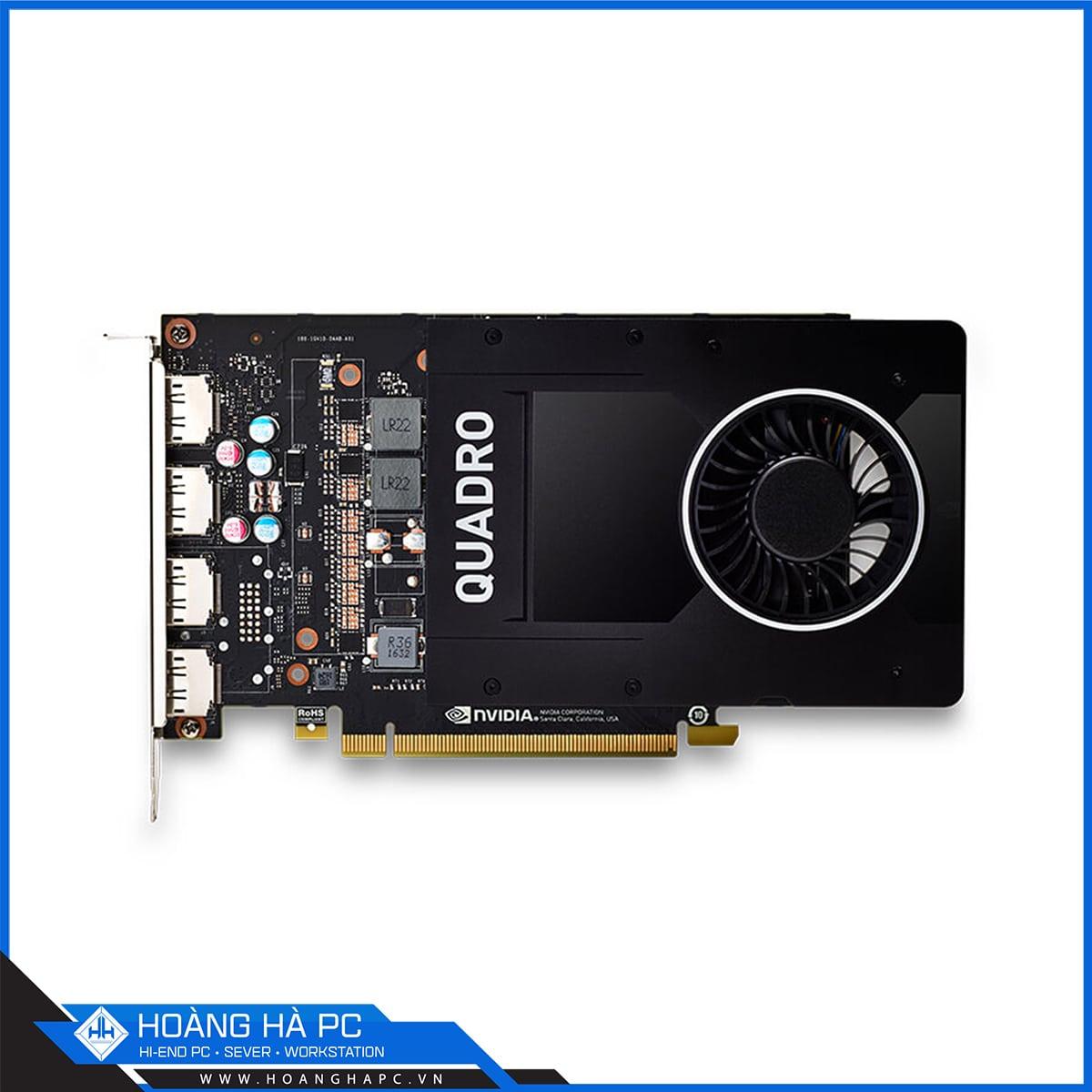 VGA Card LEADTEK NVidia Quadro P2200
