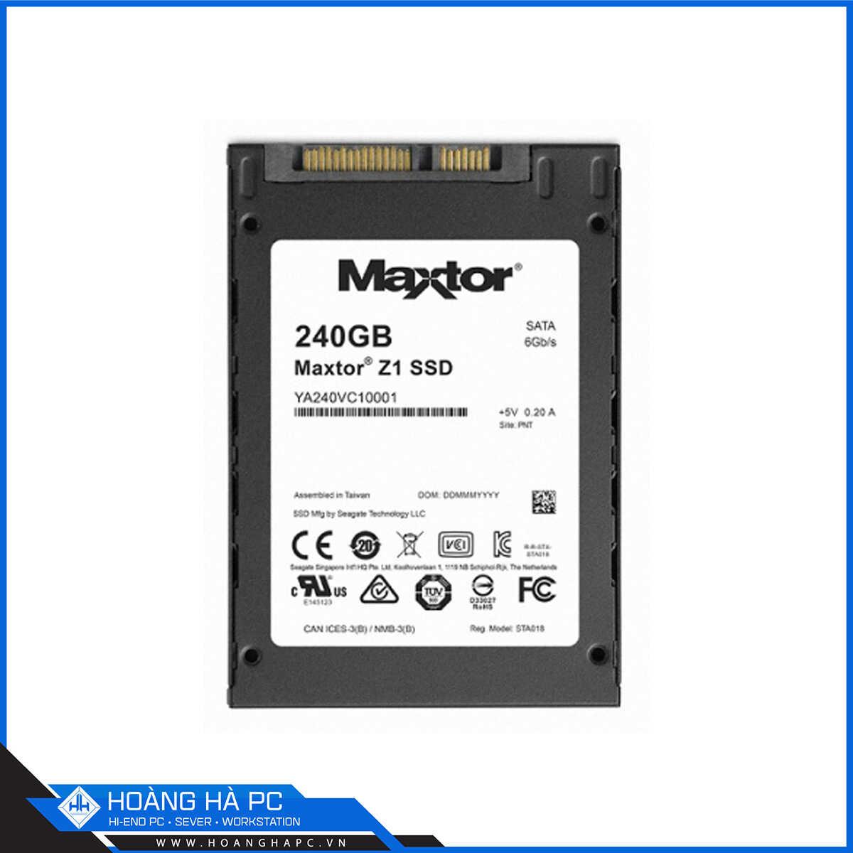 SSD Seagate Maxtor Z1 240GB