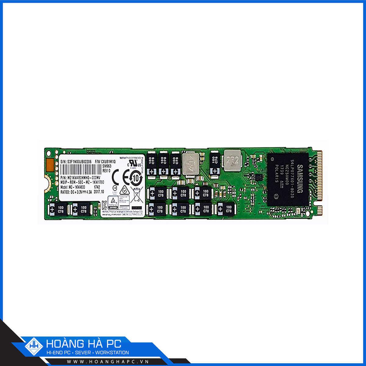 SSD Enterprise Samsung SM963 480GB