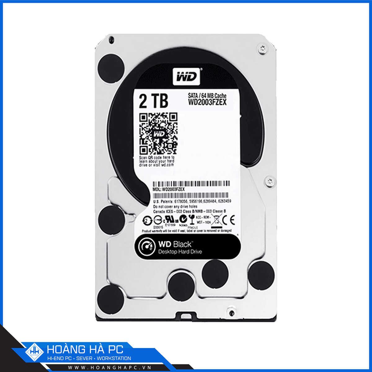 Ổ Cứng HDD Western Digital Caviar Black 2TB