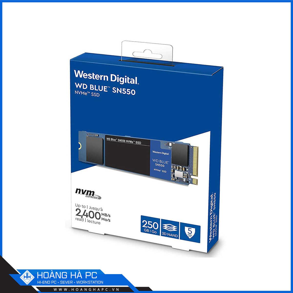 Ổ Cứng SSD WD SN550 Blue 250GB