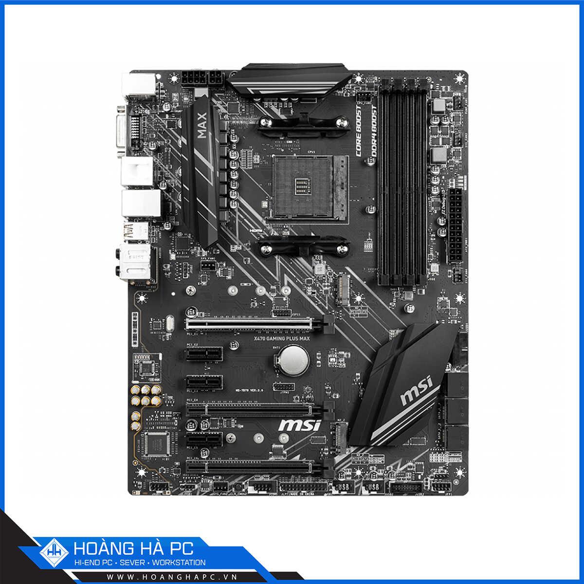 Bo mạch chủ AMD X470 được nhiều khách hàng tin chọn