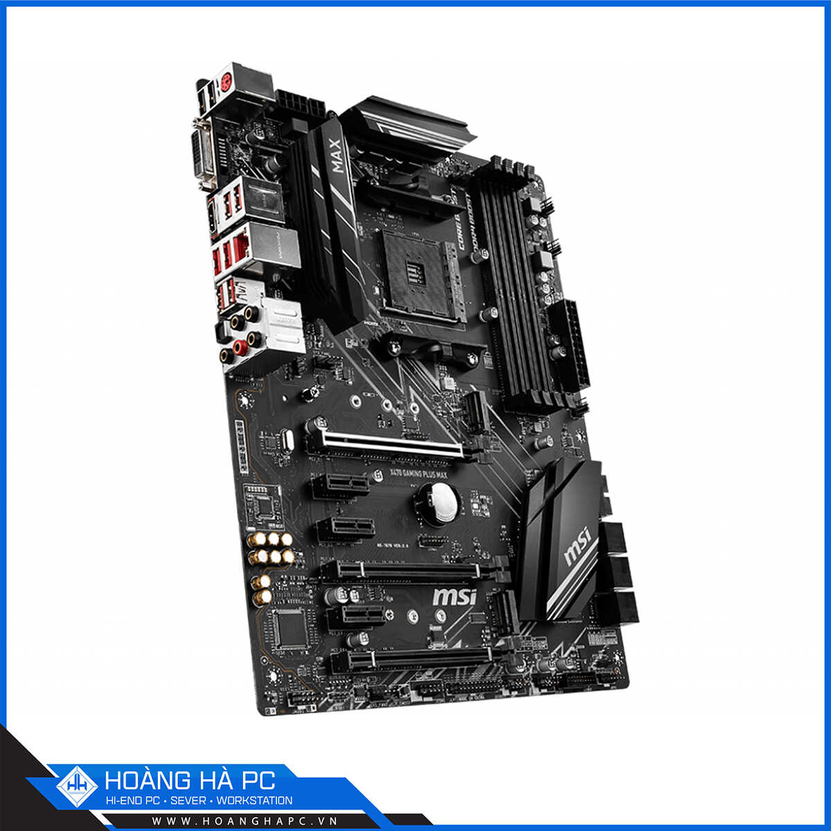 MAINBOARD MSI X470 GAMING PLUS MAX