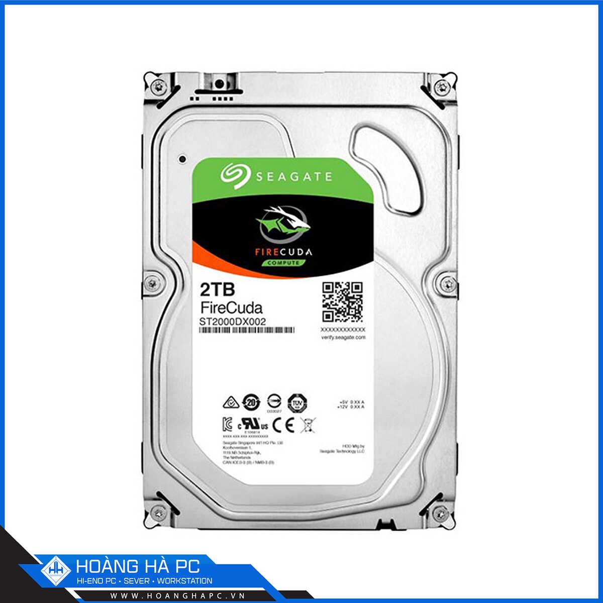 Ổ Cứng HDD Seagate Firecuda 2TB