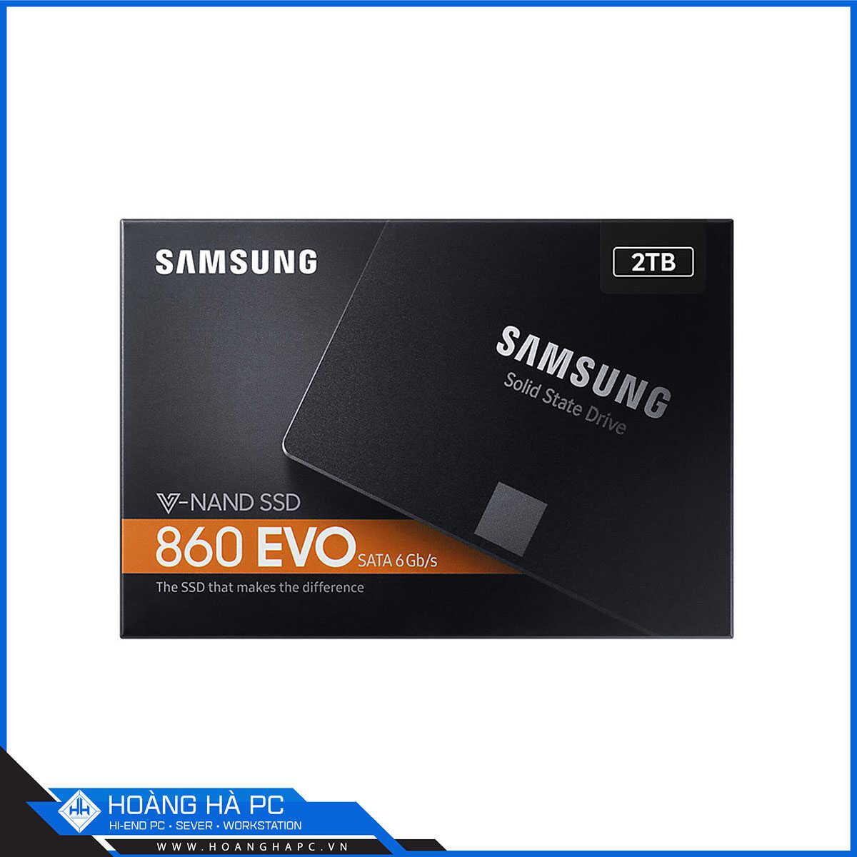 Ổ Cứng SSD Samsung 860 Evo 2TB