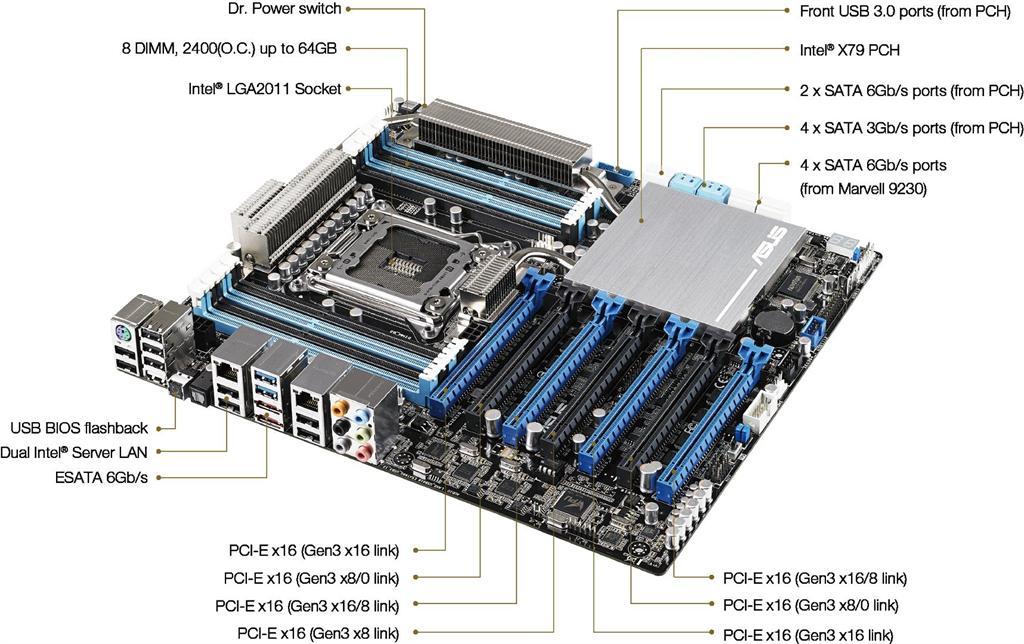 Asus P6X58-E WS ASMedia USB 3.0 Drivers PC