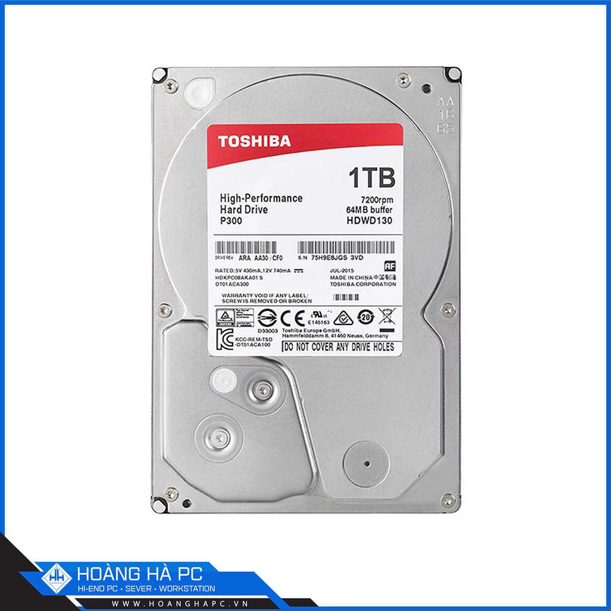 Ổ Cứng HDD Toshiba P300 1TB