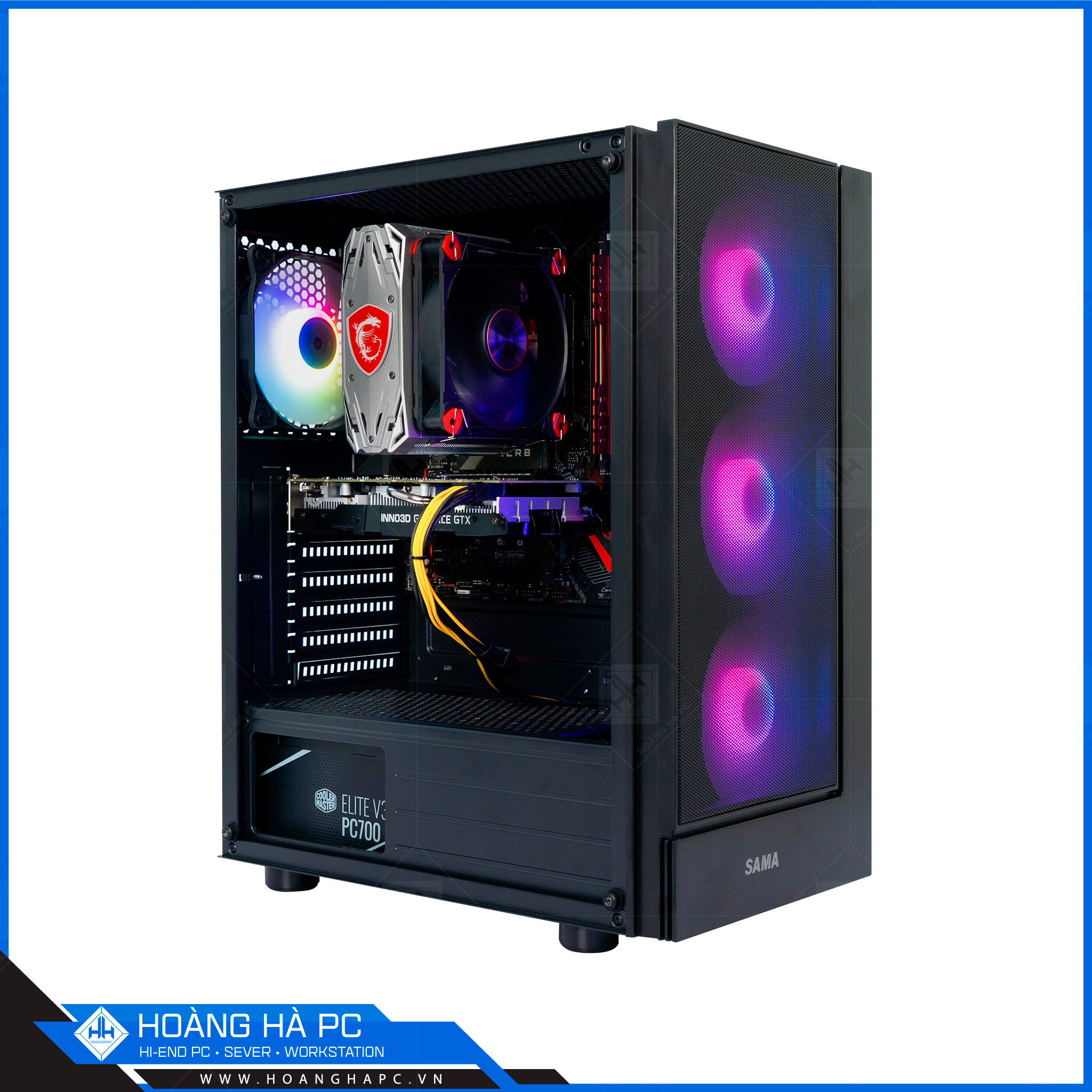 HH WORKSTATION CORE i9 9900 | 16G | NVIDIA GTX 1050Ti 4GB