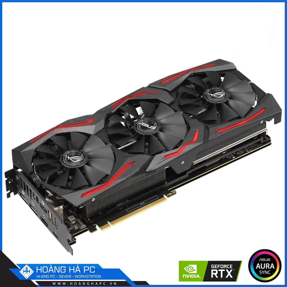 VGA Asus ROG Strix GeForce RTX 2060 Super EVO Gaming 8GB GDDR6
