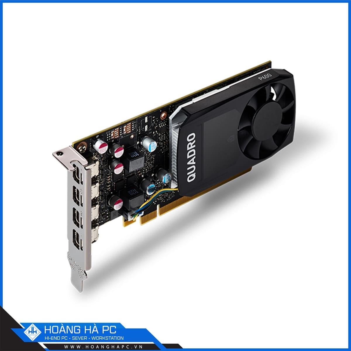 VGA CARD NVIDIA QUADRO P600 2GB