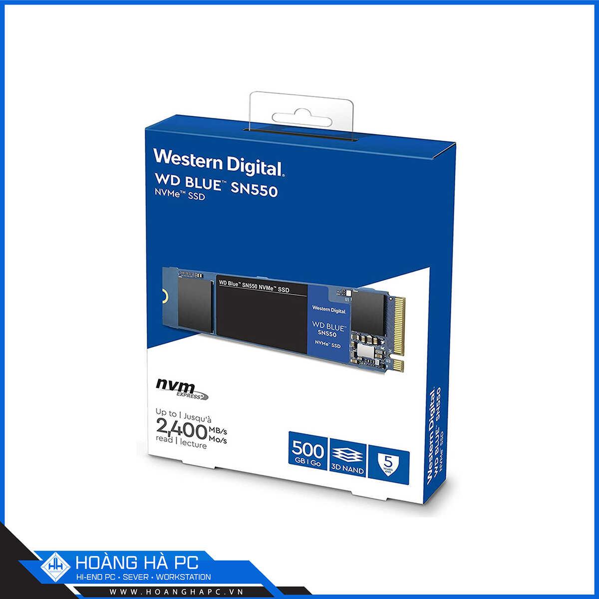 SSD WD SN550 Blue 500GB