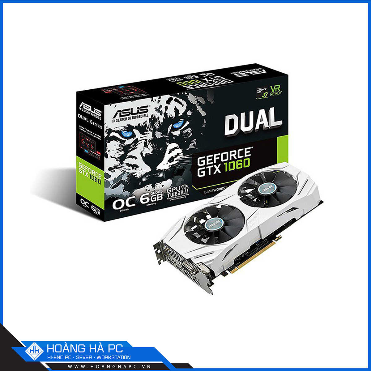 VGA Asus Dual Geforce GTX 1060 6GB
