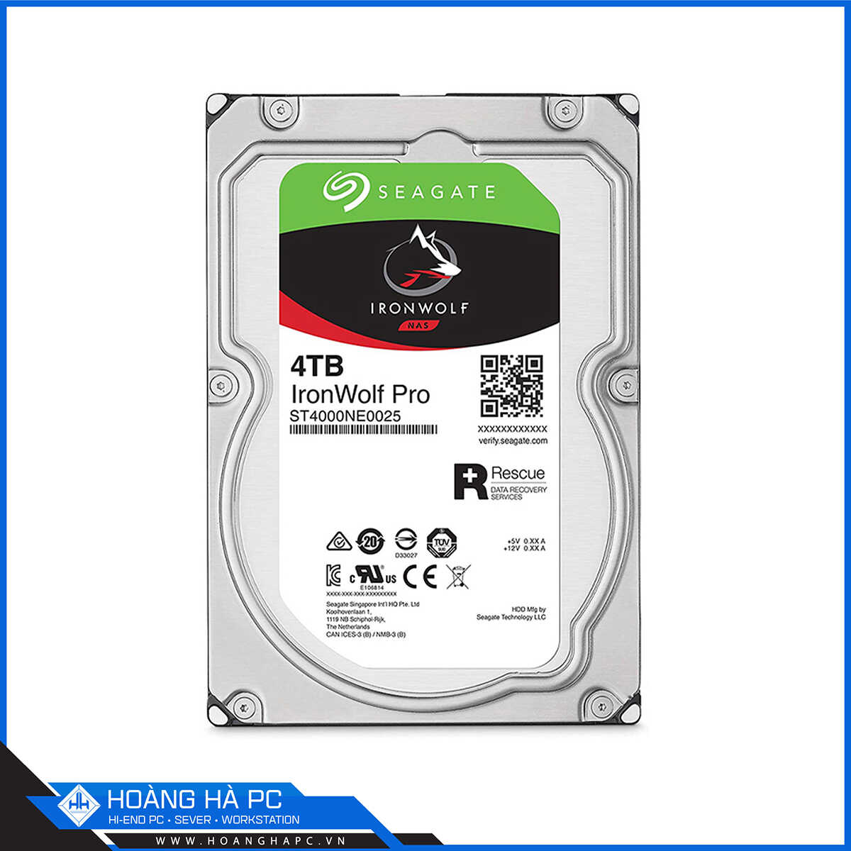 Ổ Cứng HDD Seagate Ironwolf Pro 4TB