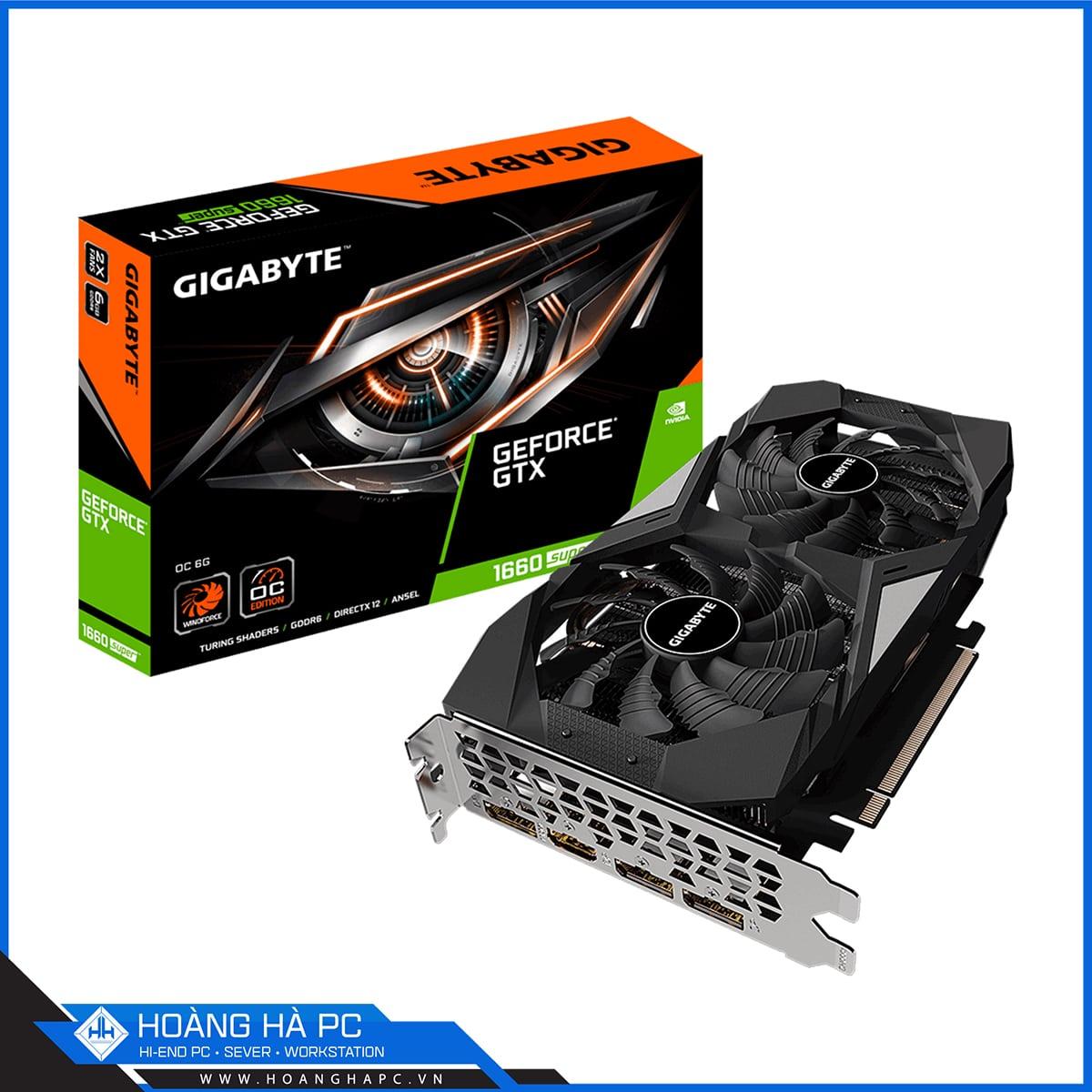 Gigabyte GeForce GTX 1660 Super OC 6GB