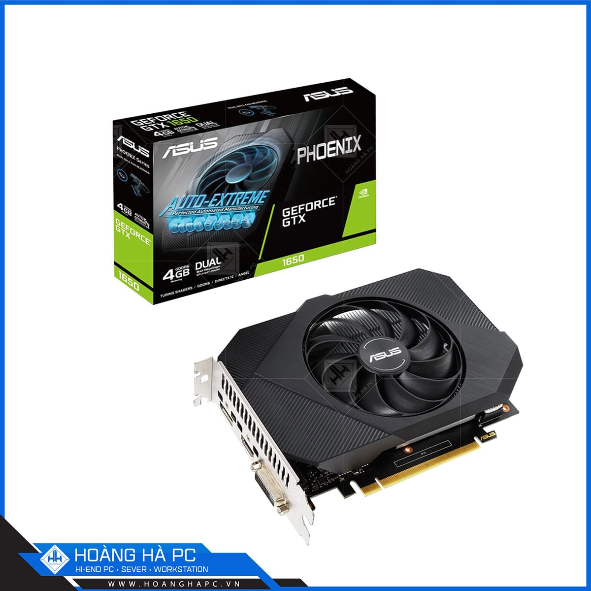 ASUS Geforce GTX 1650 4GB GDDR6 Phoenix