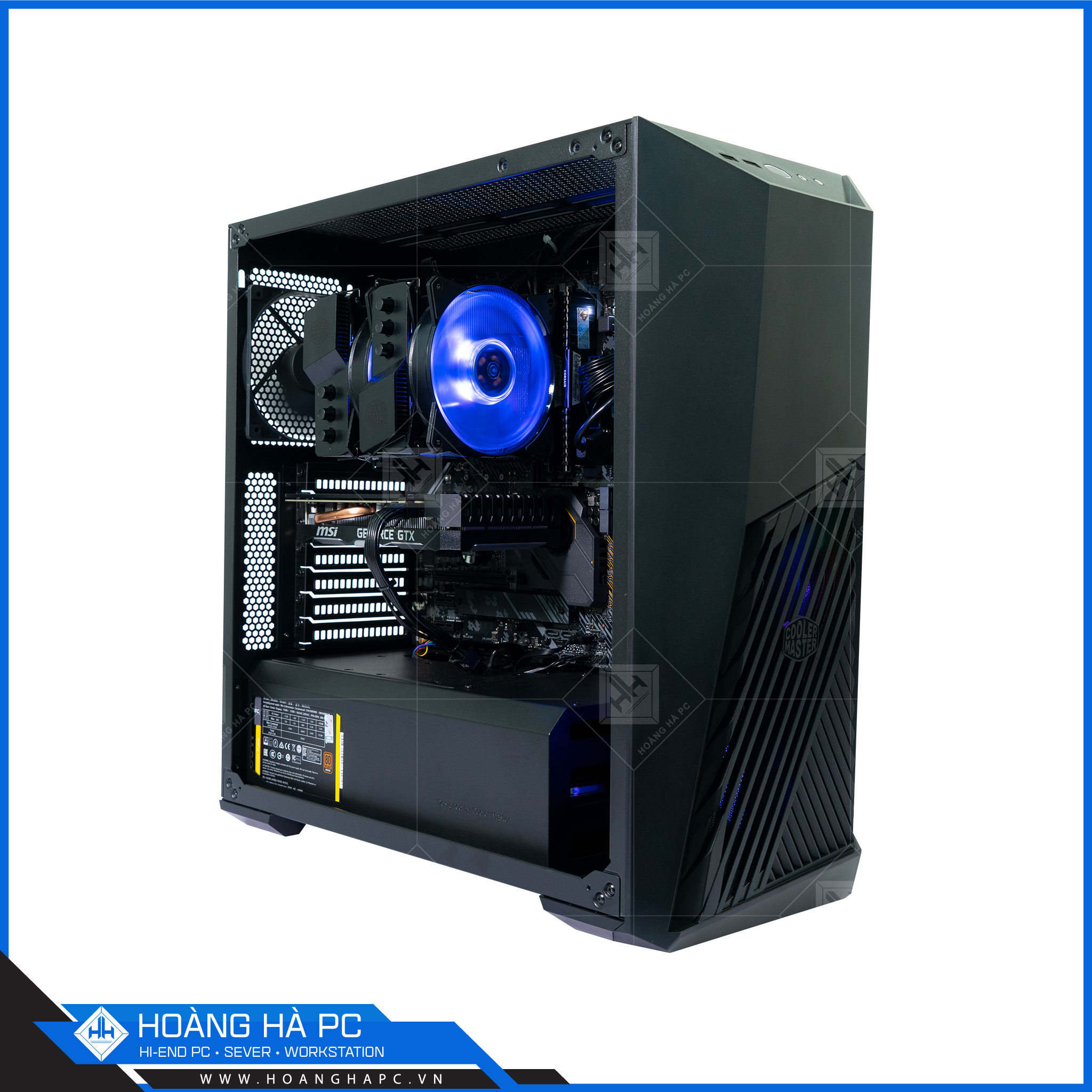 HH WORKSTATION CORE i9 10850K | 16GB | NVIDIA RTX 2060 6GB