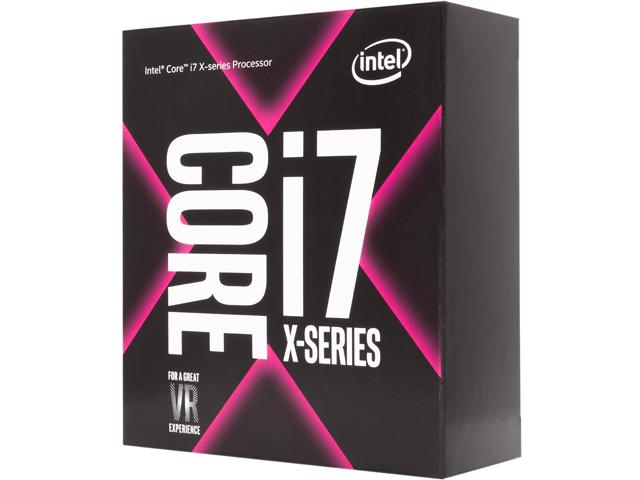 Intel Core i7 - 7800X 3.5 GHz Turbo 4.0 GHz / 8.25MB / 6 Cores, 12 Threads / socket 2066